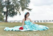 Elvil Angel Photoshoot by Zinny Theint Make-up Artistry