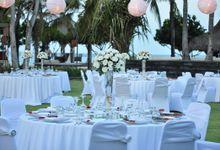 Wedding & Dinner of Dwinisa & Nathan by The Royal Santrian Luxury Beach Villa