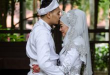 WEDDING OF AISHAH & NAZIRUL by lens and moment