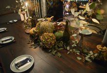 Thanksgiving Dinner by Flore Bastille
