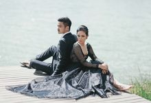 Beautiful Lake Prewedding by Face by Gabriella