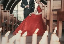 Serene Catholic Chapel Prewedding by Face by Gabriella