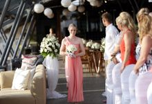 Danny and Teri Wedding by Anantara Seminyak Bali Resort