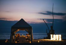 A Beautiful Sunset Beach Wedding-Dave & Lindsay by StayBright