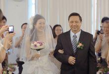 Min Sheng & Deborah // holy matrimony // church wedding // post wedding highlight by Teck Kuan // 2012 by The Next Chapter Film