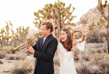 Coachella-Inspired Desert Wedding Photos by Jodee Debes Photography