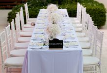 Villa  Wedding by Bespoke Experiences