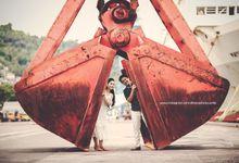 Prewedding Bima and Selvhi by dhanaphotoworks