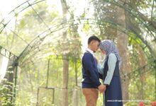 Prewedding Ririn and Reza by dhanaphotoworks