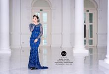 Fizah Sajuna - The Blue Collections by Yaz Photography