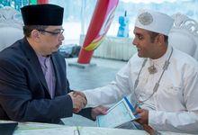 Wedding of Siti Zulaikah & Muhd Farakhan by Yaz Photography