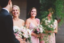 A summer wedding by Blooms by Bethan