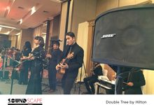 Wedding Event Double Tree by Hilton by SOUNDSCAPE - BOSE Rental Audio Professional