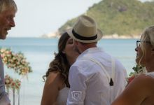 Koh Phangan - Double Wedding by Phangan Weddings