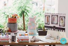 Wedding Cake Rental by Cakeinspiration  LPP