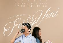 Vini & Ferry Prewedding Shoot by Kenang Design