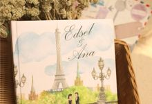 Edsel & Anna Album by Paula Rosaline Illustration