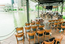 Whimsical Garden at Harrys Boat Quay by Harry's