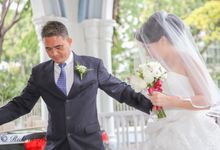 Matrimony of Eugene&Germaine by Rida in Frames