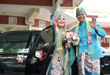 The Wedding of Annisa and Indra by Az-zahra Professional Wedding Organizer