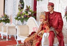 The Wedding of Furi and Andrian by Az-zahra Professional Wedding Organizer