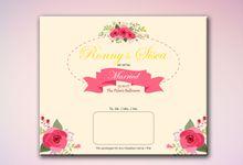 Our invitation design by Elnia Exclusive