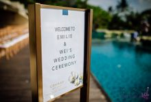Emilie and Wei wedding at Conrad Samui by BLISS Events & Weddings Thailand