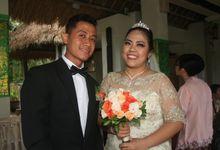 Arline & Dannes wedding by PURI SEBATU RESORT