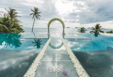 Erica & Yin wedding - Overwater wedding at conrad samui by BLISS Events & Weddings Thailand