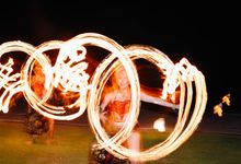 Pandawa Cliff Estate - 5th of September 2015 by Bali Fire Dancers
