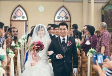 The Wedding of Edward & Griselda by Elysian Photo