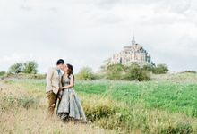Engagement Shoot in France by love is my favorite color