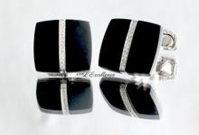 Must-Have Cufflinks & Chevalieres for the Groom by L'Excellence Diamond