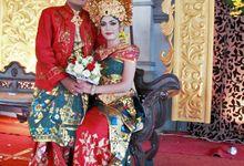 Wedding Resepsi I Kadek Agus Widiadnyana & Ni Nyoman Wahyu Lestarina by Manindra Event Organizer