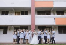 Alphonsus & Claire // aerial filming // holy matrimony // wedding dinner // same day edit express highlight by Teck Kuan // 2017 by The Next Chapter Film