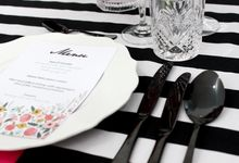 Tableware Rental Collections by Sangria Catering Bar Bali