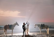 Pre Wedding with Horse by Maxtu Photography