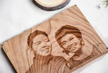 Premium Wood Photo Engrave by Red Fennec