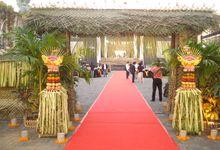 Decoration by CV Bali Stage Expotama