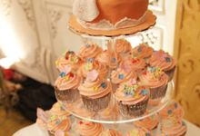 Wedding Cupcake by Velvet Cake