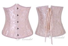 Brocade Underbust by D' Corselet Singapore