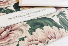 Lush Peonies by Spinsugar Stationery