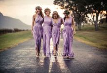 Mismatched Bridesmaid Dresses by White Runway