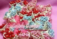 flower bouquets by Lovely Corner Clay