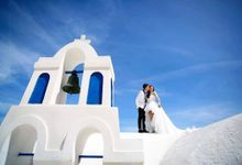 Romancing in Santorini by Ted Wu