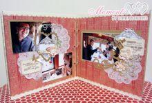 Custom Wedding Album by Moments by Stirring Hearts