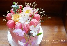 FLORAL CAKE featuring Lux Floral by Sucré Pâtissier and Chocolatier