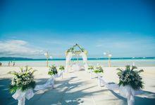 Weddings at Fridays - Ceremony by Fridays Boracay Resort
