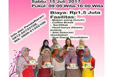 kursus pelatihan dekorasi fondant by Lily Cake Shop Banjarmasin