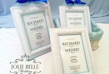 Photo Frame Gift Richard & Wendy by Jolie Belle